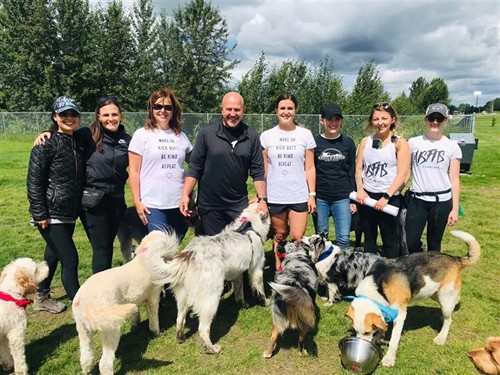 NEWS RELEASE - Local Dog Walker Donates $6000 to Volunteer Rescue Group